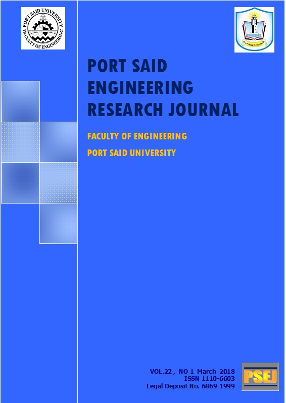 Port-Said Engineering Research Journal